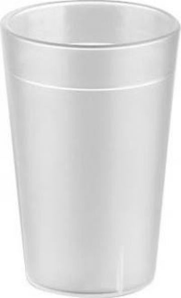 Pahar policarbonat bauturi racoritoare 250ml mat de la Basarom Com