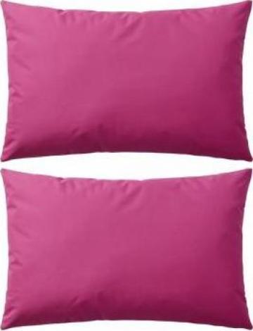 Perne de exterior, 2 buc, 60x40 cm, roz