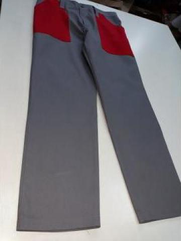 Pantalon de curatenie in doua culori de la Sc Atelier Blue Srl