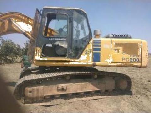 Piese de excavator Komatsu PC200 de la Pigorety Impex Srl