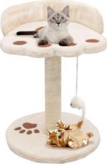 Ansamblu pisici, stalp funie sisal 40 cm Bej si maro de la Vidaxl