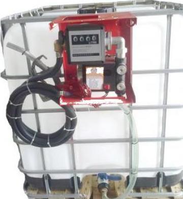 Pompa autoamorsanta bazin IBC 1000 litri de la Gasoil Line Srl Ro 2024580