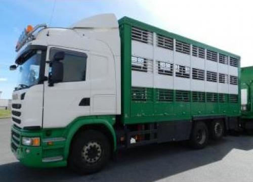 Camion transport animale Scania G490 06/2014 6x2 de la Eurimpex
