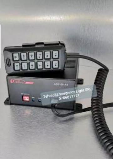 Sirena digitala Politie Locala, Ambulanta, IGSU Politie de la Tehnic & Emergency Light Srl