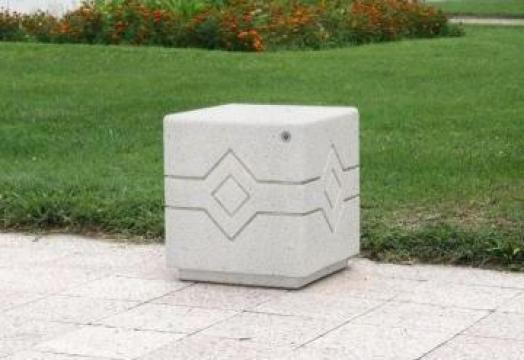 Bolard / scaun din beton LED 149