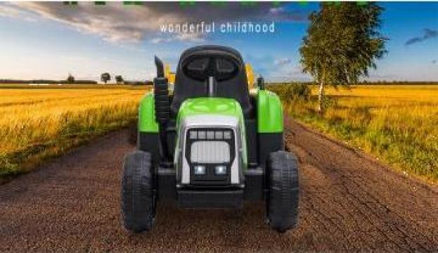 Jucarie tractor electric pentru copii BJ-611 70W 12V