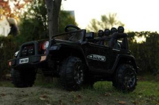 Jucarie masinuta electrica copii Jeep BRD-7588 70W 12V Black de la SSP Kinderauto & Beauty Srl