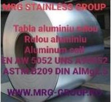 Rulou aluminiu inox 0.63mm EN AW 5052 AlMg2.5