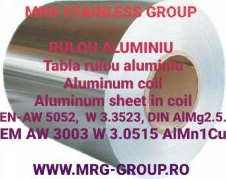 Rulou aluminiu 0.88x1000mm EN AW 5052 EN-AW 3003 tabla foaie