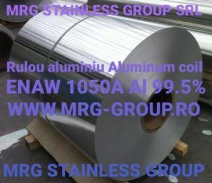 Rulou aluminiu 0.8x1000mm, tabla rulou aluminiu