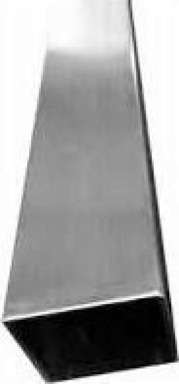 Teava inox dreptunghiulara 60x40x2 otel inoxidabil de la MRG Stainless Group Srl