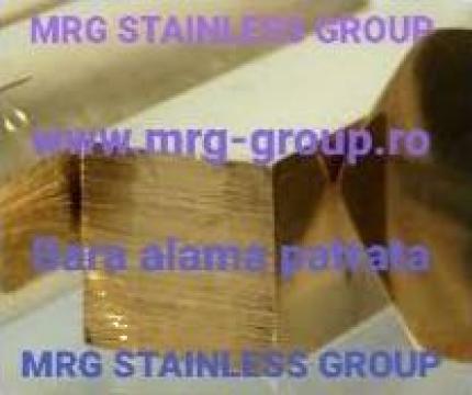Bara alama patrata 40x40x3000mm de la MRG Stainless Group Srl