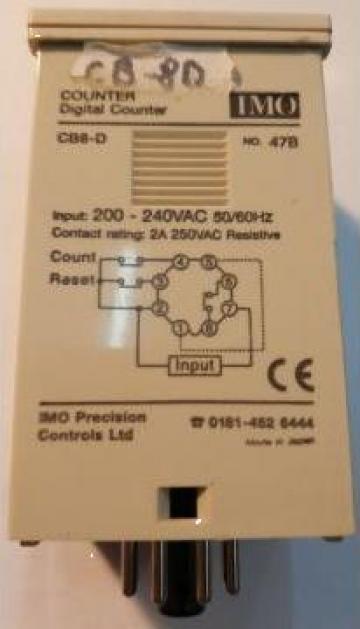 Counter 240V AC digital, CB-8D