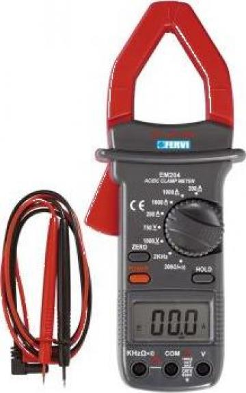 Ampermetru digital P075 de la Proma Machinery Srl.