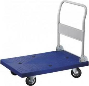 Carucior platforma PVC maipulare marfa 400 kg C300 de la Proma Machinery Srl.