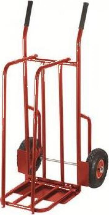 Carucior pentru marfa cu roti 150 kg C189 de la Proma Machinery Srl.