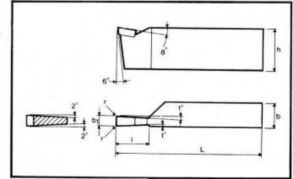 Cutite strung pentru canelat ISO 7 - DIN 4981 de la Proma Machinery Srl.