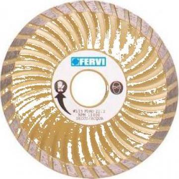 Disc diamantat 115 mm super turbo 0709 de la Proma Machinery Srl.