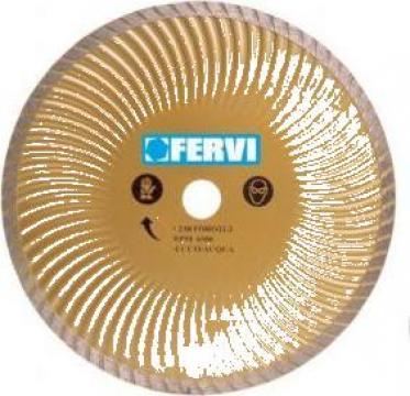 Disc diamantat 230 mm super turbo 0350 de la Proma Machinery Srl.