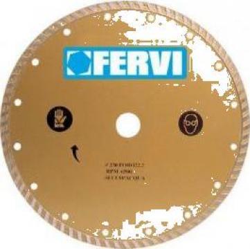 Disc diamantat 230 mm turbo 0527 de la Proma Machinery Srl.