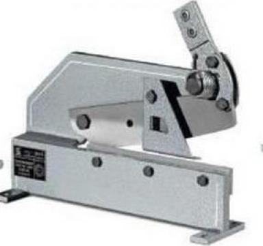 Foarfeca manuala pentru debitat metal si tabla HS-12 de la Proma Machinery Srl.