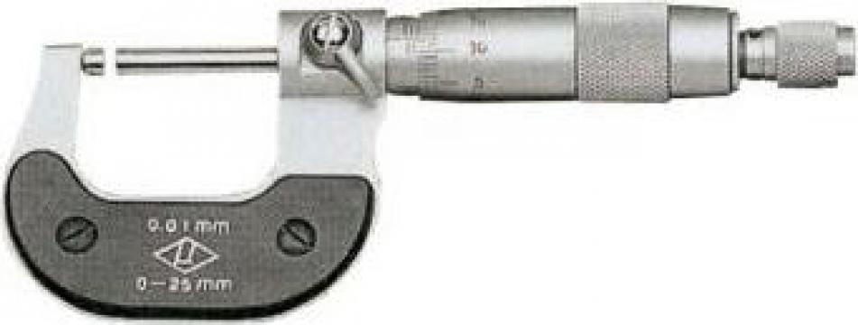 Micrometru 0-25 mm (0,01) de la Proma Machinery Srl.