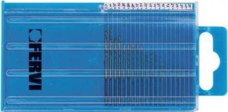 Set burghie 0.25-1 mm DIN 338 HSS 135 TIN P068 de la Proma Machinery Srl.