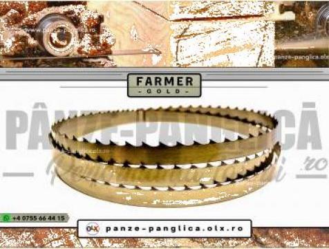 Panza panglica banzic Farmer 4000x40x1 I Lemn I Premium Gold de la Panze Panglica Srl