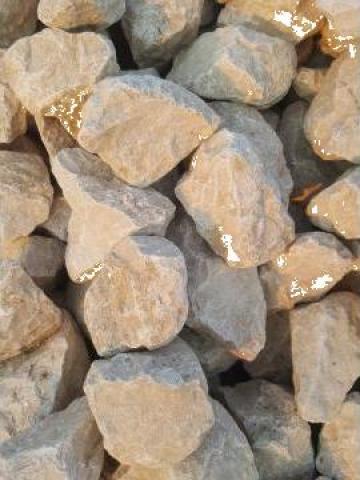 Piatra de calcar concasat, gabioane gard de la Trans Udroiu Srl