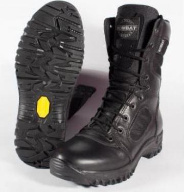 Bocanci jandarmi/militari negru All Terrain KOMBAT Vibram de la Shoes Top