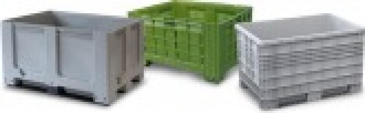 Containere din plastic 1200x800x800 de la Iw Utilaje Srl
