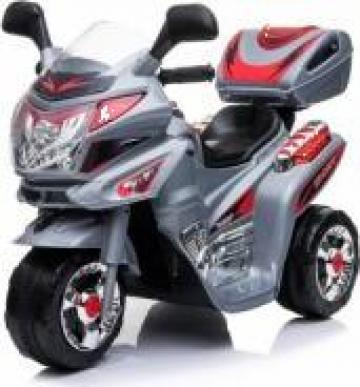 Jucarie mini motocicleta electrica 183099 alb de la SSP Kinderauto & Beauty Srl