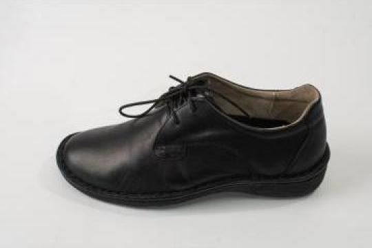 Pantofi barbati din piele intoarsa cu siret art. And