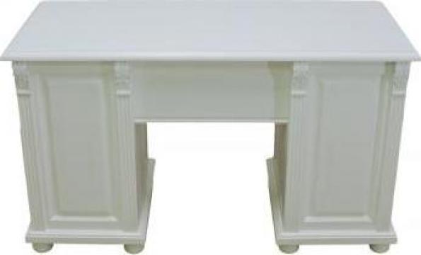 Birou alb de lemn de la Brenda Comserv Srl