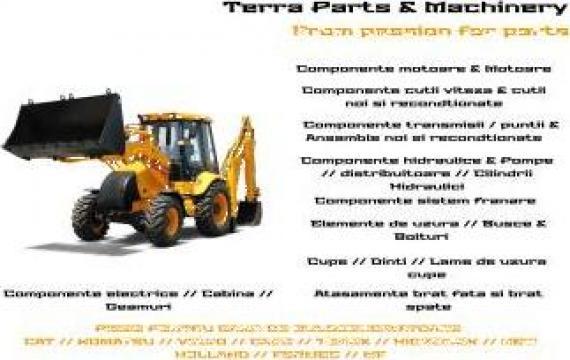 Piese utilaje -buldoexcavatoare de la Terra Parts & Machinery Srl