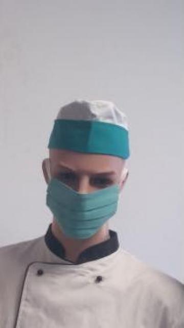 Masca chirurgicala reutilizabila bumbac