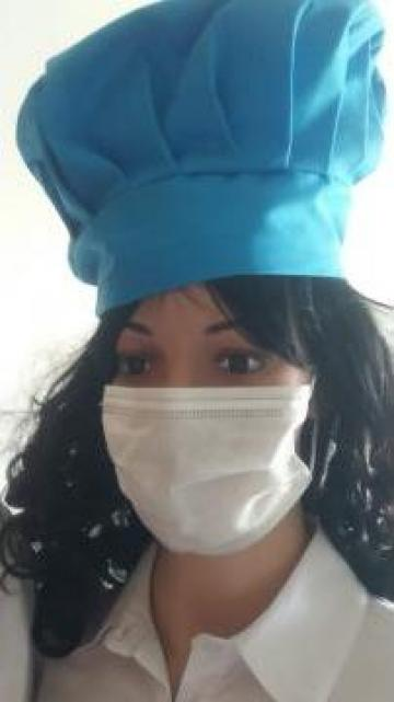 Masca chirurgicala de unica folosinta alba
