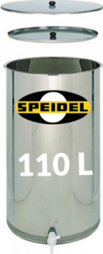 Butoi pasteurizare Speidel 110 litri de la Nedeias Com Srl