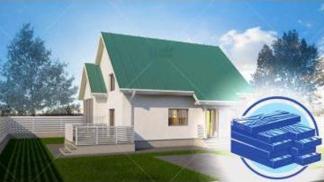 Constructie casa lemn parter + mansarda (111 mp) - Muralis de la S.C. Specific Urban SRL