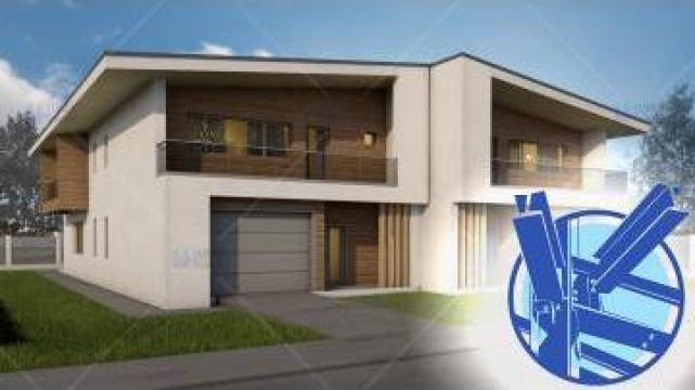 Constructie casa structura metalica duplex - Teea de la S.C. Specific Urban SRL