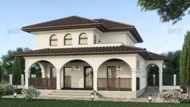 Proiect casa parter + etaj (107 mp) - Ronia de la S.C. Specific Urban SRL