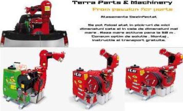 Tunuri spray pentru dezinfectare de la Terra Parts & Machinery Srl