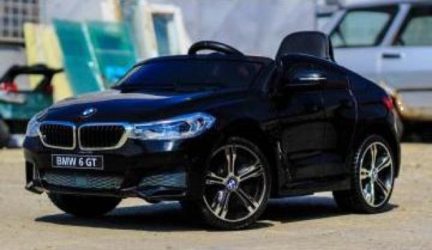 Jucarie masinuta electrica Bmw Seria 6 GT 12V Premium #negru