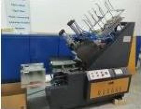 Masina automata de produs caserole de hartie de la Kronstadt Papier Technik S.a.