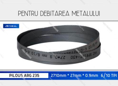 Panza 2710x27x6/10 fierastrau panglica metal Pilous ARG 235 de la Panze Panglica Srl