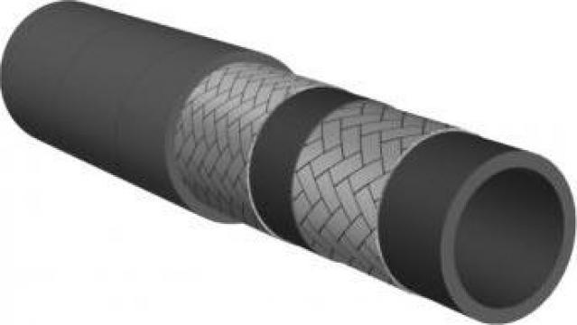 Furtun hidraulic compact din cauciuc Vega 2SC de la Brinkoflex Furtunuri Si Racorduri Srl