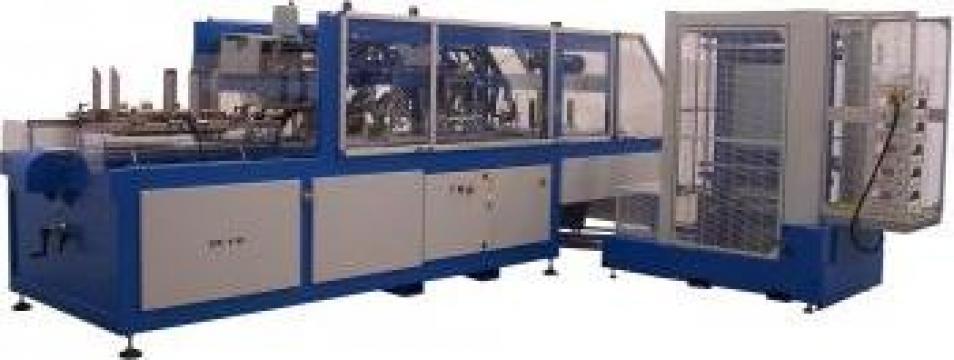 Masini pentru productie de ladite din carton ondulat