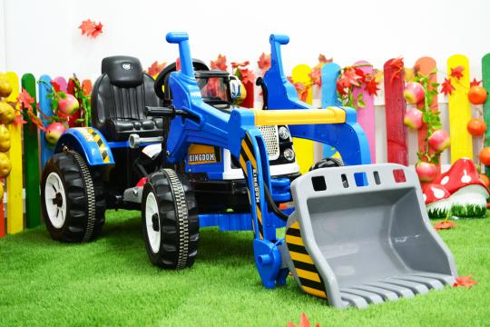 Jucarie excavator electric pentru copii Kinderauto BJS328A de la SSP Kinderauto & Beauty Srl