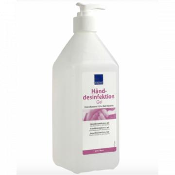 Gel dezinfectant pentru maini 85% alcool, 600 ml - Abena