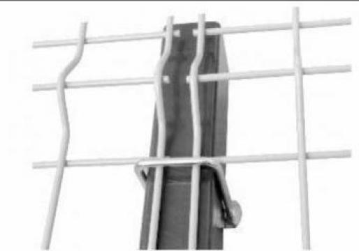 Brida gard pentru stalp 100*50 mm de la Technoshop
